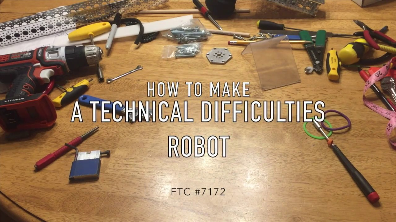 How to make a 7172 robot (FTC Velocity Vortex Qualifiers Robot Reveal)