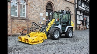 stehr plate compactor when used in historical surroundings