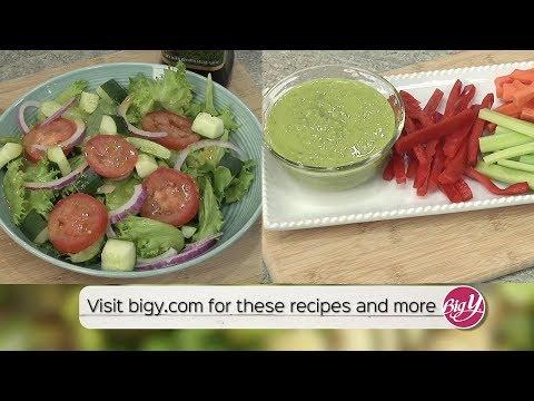 Big Y Living Well Eating Smart Food In :60 - Homemade Salad Dressings
