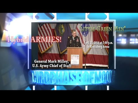 WHOA! Chief Of Staff US Army WARNS OF ALIEN UFO INVASION!!? WHISTLE BLOWER General Mark Milley 2016