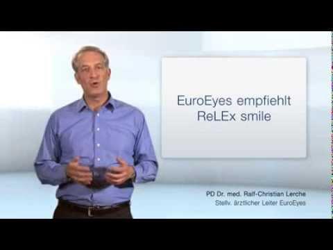EuroEyes Empfiehlt ReLex Smile!