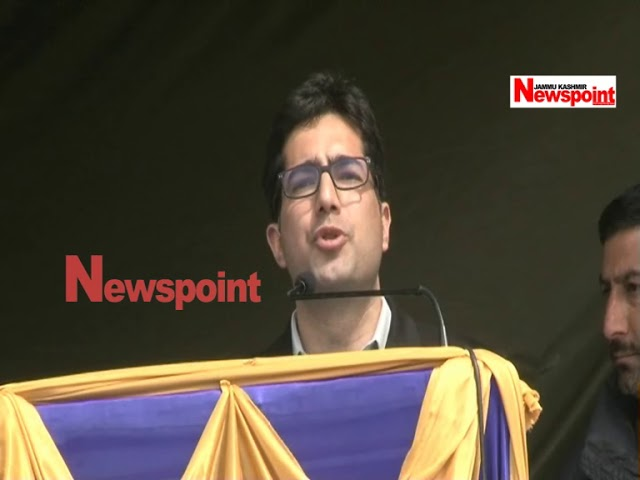 Shah Faesal launches 'Jammu and Kashmir Peoples Movement' party