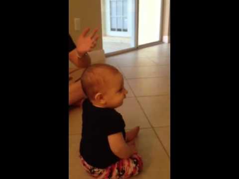 Emma crawling 2