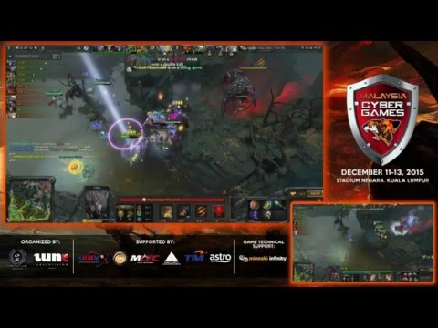 Malaysia Cyber Games 2015 - Part 2