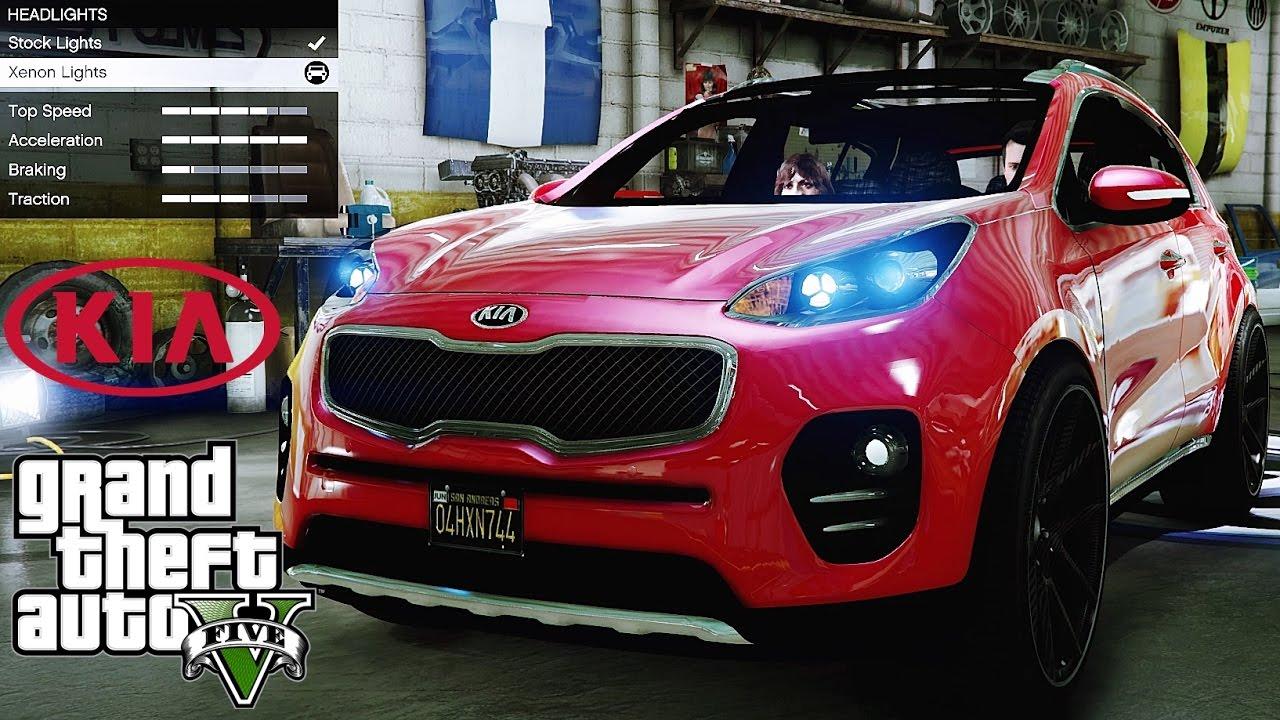 2017 Kia Sportage 🚗 GTA V ☢ Redux Extreme Graphics ...