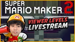 "[🔴LIVE] ""PLAYING VIEWER'S LEVELS"" - Mario Maker 2... Reqest via Discord!"