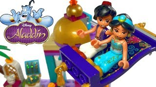 2019 LEGO Disney Princess Aladdin and Jasmine Palace Adventures 41161 Review