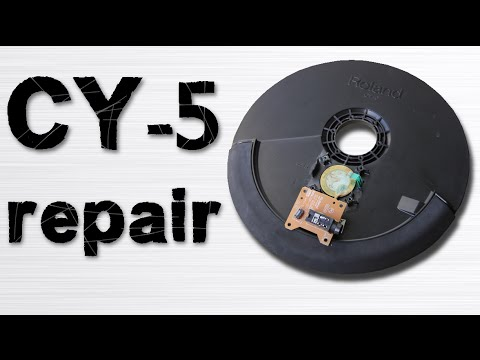 roland cy 5 cymbal repair youtube. Black Bedroom Furniture Sets. Home Design Ideas