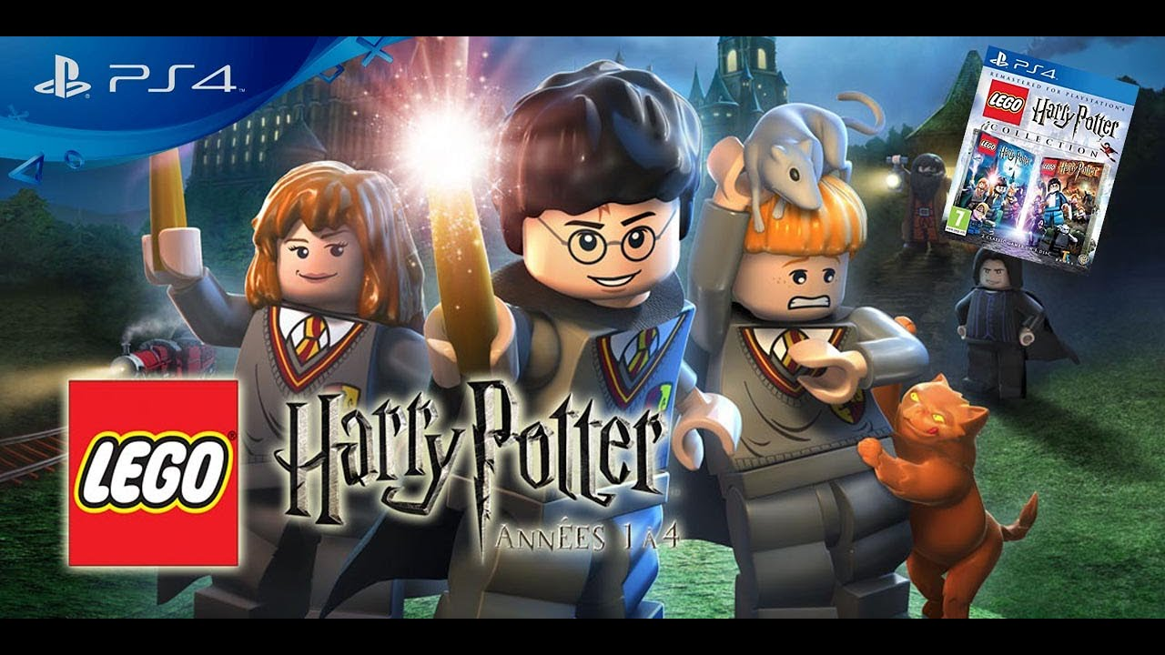 On commence Lego Harry Potter Collection sur PS4 Gameplay Français