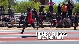 Henry Ruggs III shows his next level speed