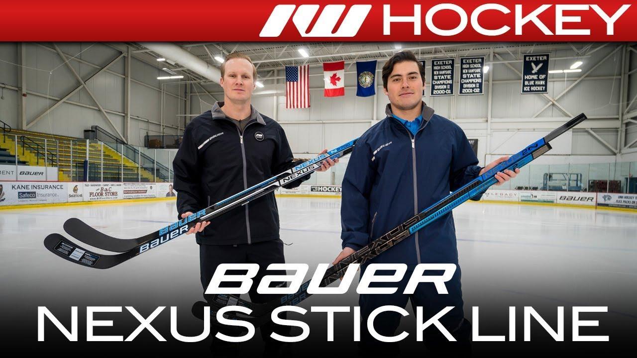 04e0f36fbba Bauer Nexus 2N Pro Stick Line    On-Ice Insight - YouTube