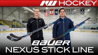 Bauer Nexus 2N Pro Stick Line // On-Ice Insight
