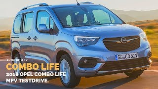 2018 Opel Combo Life | Testdrive & Review | Deutsch.