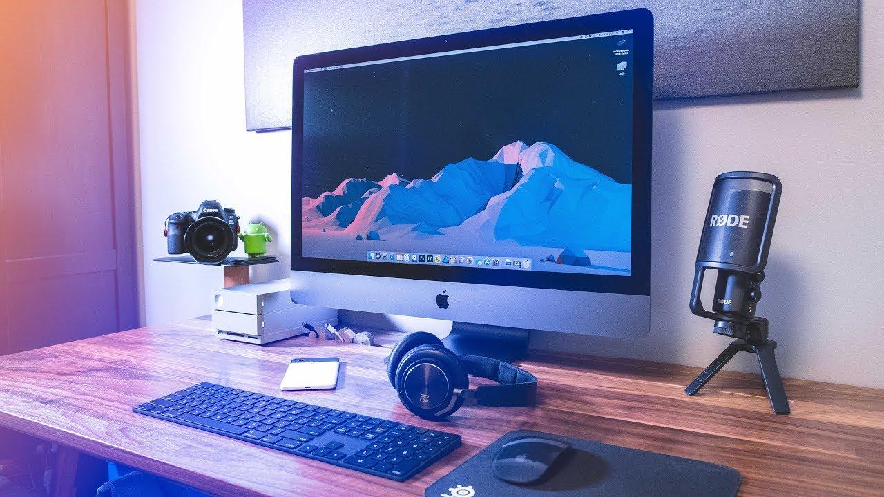 Ultimate Desk Setup Tour 2018: IMac Pro