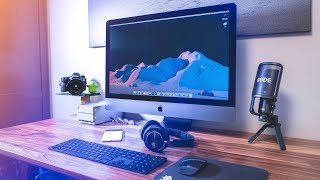 Ultimate Desk Setup Tour 2018: iMac Pro