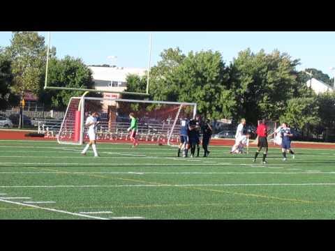 SP at CH soccer clip 13  Brady White's winning goal 9 23 13