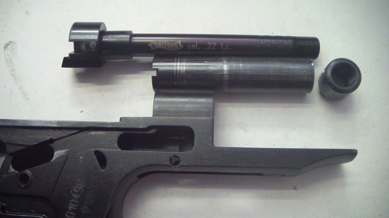 Walther PPK/s 22 LR barrel