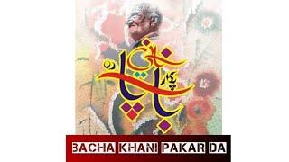 bacha khani pakar da خالد امیری د شاہین بونیری کتاب نہ باچاخانی پکار دہ