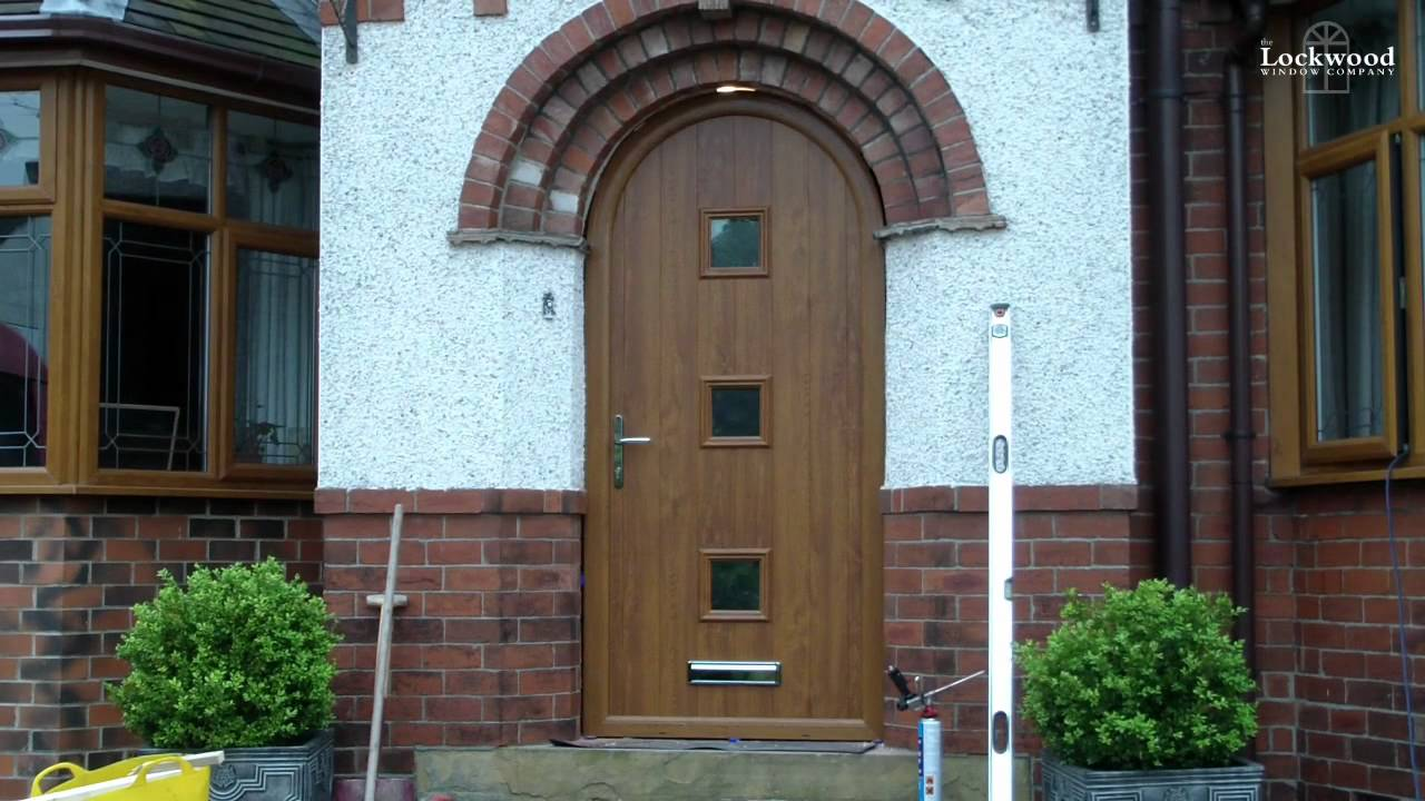 Lockwood Windows First Round Topped Composite Doors Installation