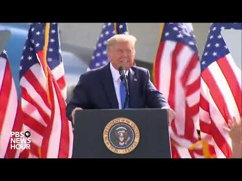 WATCH LIVE: Trump holds campaign rally in Greenville, North Carolina