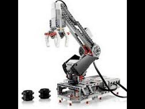 Lego MINDSTORMS EV3 Robot arm H25 live build ! - YouTube