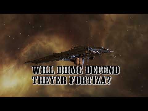 EVE-Online Jerma/Domain | MC vs BHMC | Station defence