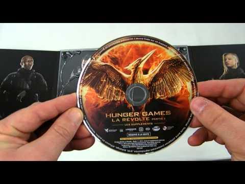 Hunger Games La Révolte Partie 1 Edition Prestige Blu ray streaming vf