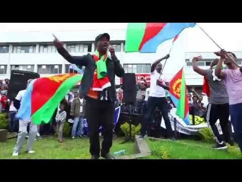Eritrean demonstration supporting to COI, in Addis Ababa, 23 JUNE 2016 PART 2 (Full HD)