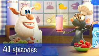 Booba - All Episodes Compilation + 11 Food Puzzles - Cartoon for kids