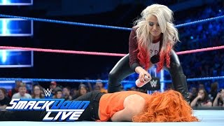 Alexa Bliss adds a little color to Becky Lynch's return: SmackDown LIVE, Oct. 25, 2016