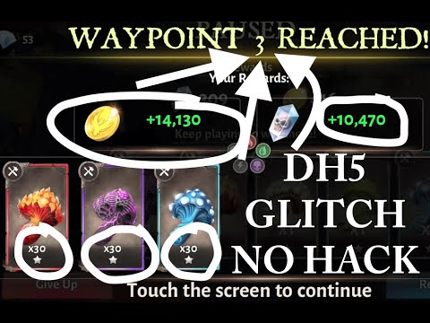 Dunjeon Hunter 5 Awesome Glitch No Hack [2016]  - DH5 Amazing Infinite Loot Glitch Ios
