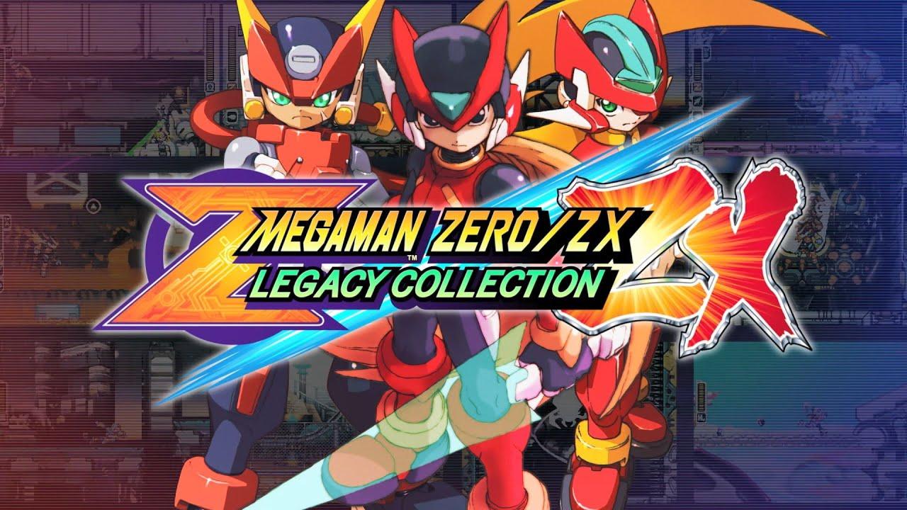 Resultado de imagem para MEGAMAN ZERO/ZX: LEGACY COLLECTION