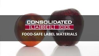 Food-Safe Label Materials