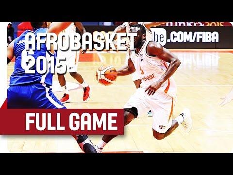 Côte d'Ivoire v Cape Verde - Group D - Full Game - AfroBasket 2015