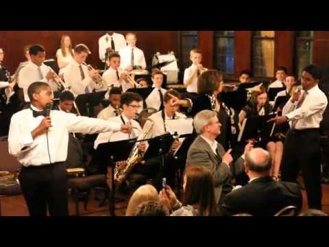 """Doane Academy's All-School Band Performs """"Mr. McGee"""""""