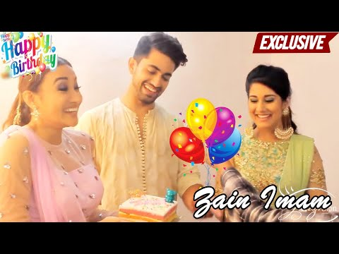 Zain Imam celebrates his birthday with Glitz Vision , co-stars & Family | Exclusive thumbnail