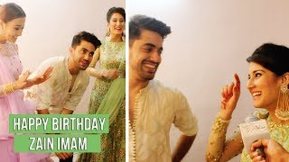 Zain Imam celebrates his birthday with Glitz Vision , co-stars & Family | Exclusive