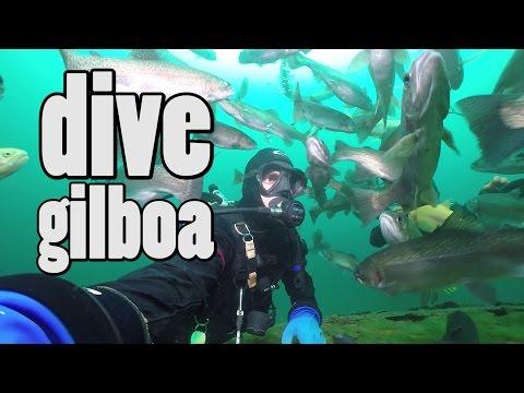 Scuba Diving The Gilboa Quarry