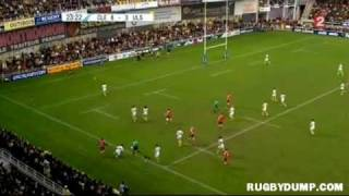 Tries in Europe 2011 2012 day 6 Clermont - Ulster