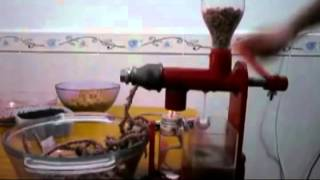 Oil Press Manual How to Operate,  Manual oil press, Make oil at home thumbnail