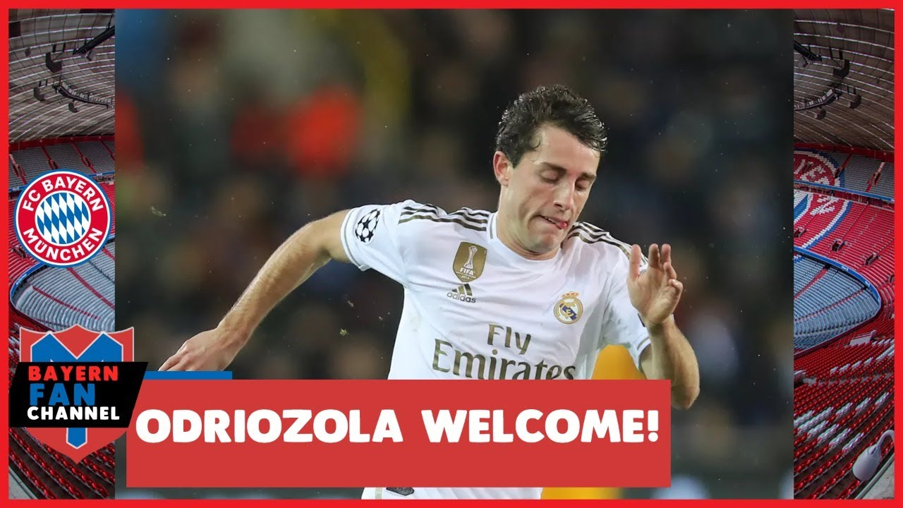 Bayern Munich Sign Alvaro Odriozola on Loan from Real Madrid