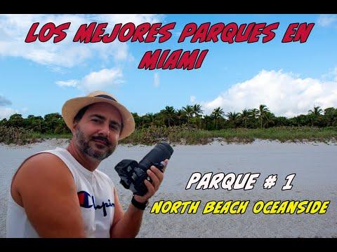 Mejores parques de Miami [North Beach Oceanside Park]🏞️ INGLES, RUSO, FRANCES, HOLANDES