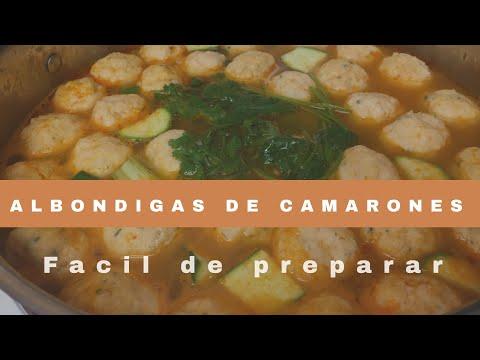 Receta De Albóndigas De Camaron