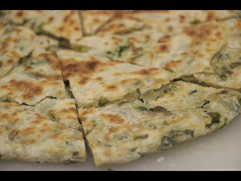 How to Make Green Onion Pancake Pizza