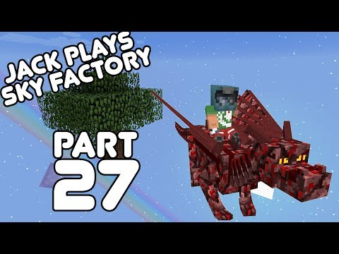 The Dragon Tamer! Jack plays Sky Factory Part 27!
