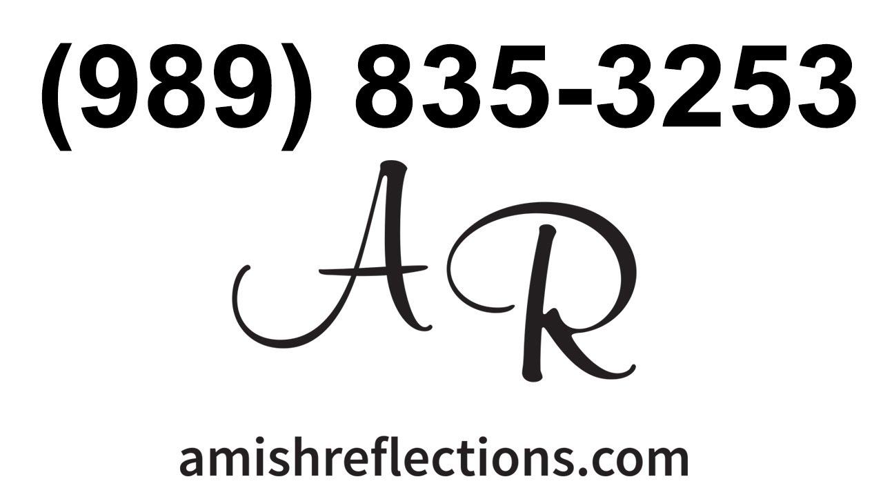 Amish Furniture Store For Midland MI, Auburn MI, Coleman MI, Edenville MI.