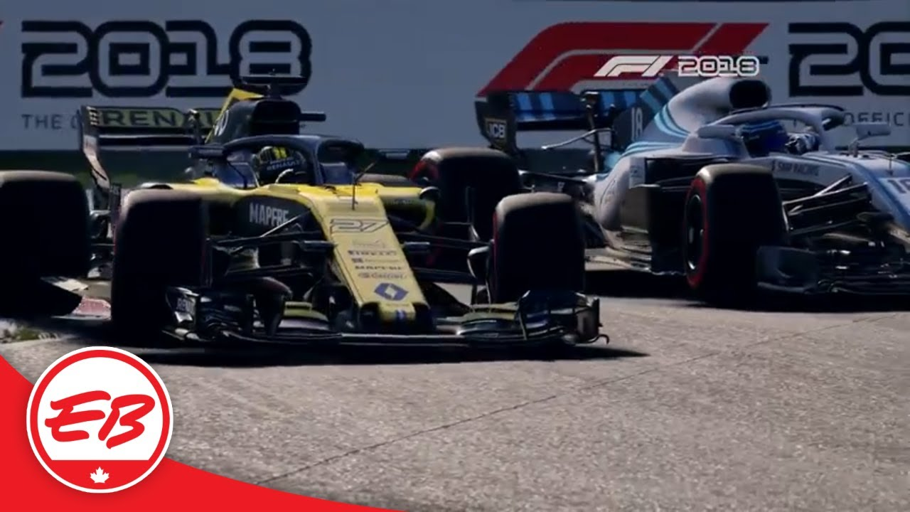 f1 2018 launch trailer codemasters eb games youtube. Black Bedroom Furniture Sets. Home Design Ideas