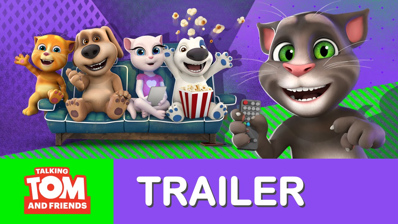 Talking Tom And Friends New Episodes Teaser Trailer