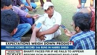 Prithvi Shaw: A victim of his own talents and successes
