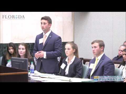 2017 Florida High School Mock Trial State Finals